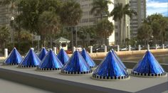 V3Solar's Spinning Cone-Shaped Solar Cells Generate 20 Times More Electricity Than Flat Photovoltaics