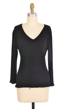 Max Studio Black Ribbed Sweater Size M   ClosetDash #fashion #style #tops #blouse