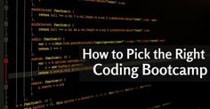A coding bootcamp is defined as a technical training program where you will be taught different types and parts of programming