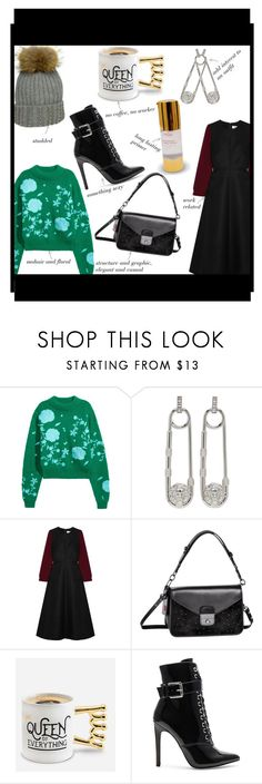 """""""January Objects of Desire"""" by somodishlychic on Polyvore featuring Versus, Cefinn, Longchamp, BigMouth and Danielle Guizio"""
