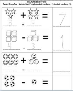 Contoh Soal Ujian TK dan PAUD | Pusat Pendidikan berhitung
