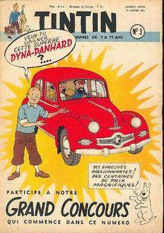 Revista Tintin 1953 - Dyna Panhard