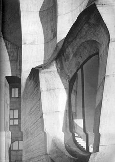 Rudolf Steiner's Second Goetheanum, Detail of Rudolf Steiner's second Goetheanum
