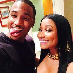 Trey Songz & Nicki Minaj at Powerhouse '14 :D,...# BiTs-LoVe