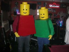 Lego man dress ups :)