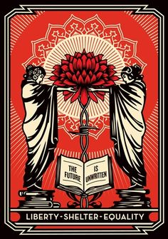 Exclusive Shepard Fairey print to benefit the Coalition for the Homeless charity.