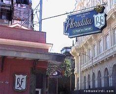 The Floridita Bar, Hemmingway's watering hole