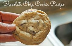 The BEST chocolate chip cookie recipe ever!  It's perfect in EVERY way, Tried and true.