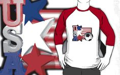 USA Flag  by Valxart Click to see Valxart on redbubble.com/people/valxart