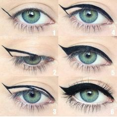 How to do your eyeliner step by step