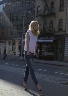 celebinspire: Elin Kling / zara heels