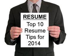 10 Best Resume Tips for 2014