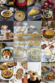 Whether you're looking for #sweet or #savoury #vegan #pumpkin #recipes, #gluten-free or not, vegan pumpkin recipes for #breakfast, #lunch, #dinner, or #supper - you can find them here. Check out all these fantastic #easy vegan pumpkin recipes to make this #fall! | yumsome.com via @yums0me Vegan Bean Recipes, Vegan Mexican Recipes, Curry Recipes, Vegetarian Recipes, Pie Recipes, Fall Recipes, Cooking Recipes, Baked Pumpkin Oatmeal, Vegan Pumpkin