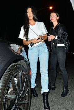 Casual Kourtney Kardashian Outfit
