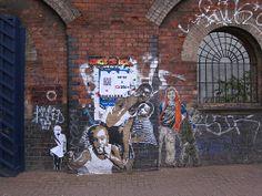 Streetart in London October 2012   Gorgious art i like from #London - More @