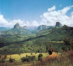 Simien Mountains National Park, Ethiopia.
