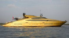 Gold Yacht.....yea right !!