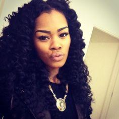 Tremendous Playlists Teyana Taylor And Taylors On Pinterest Short Hairstyles For Black Women Fulllsitofus
