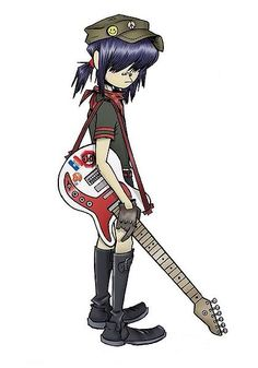 Noodle from the Band : GORILLAZ