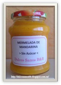 Dulces Sanos B&B: MERMELADA DE MANDARINA (SIN AZÚCAR)