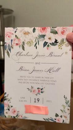 romantic blush pink flower wedding invitations SWPI069 #wedding#weddinginvitations#stylishwedd#stylishweddinvitations #vellumweddinginvitations