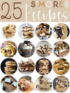 25 Sinfully Delicious ways to eat and make s'mores!