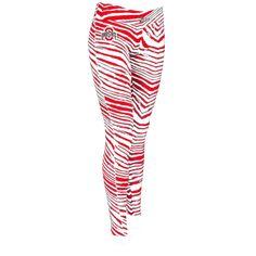 Ohio State Buckeyes Zubaz Women's Leggings - Scarlet - $34.99