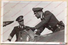 HM King Michael I of Romania and Major Gotthard Handrick, Băneasa airfield, 1941. Foto credit: The Luftwaffe in Romania 1940-1944, Facebook Romanians want their Monarchy back! http://www.anrm.ro  —  Majestatea Sa Regele Mihai al României și maiorul Gotthard Handrick, la aerodromul Băneasa, 1941. Foto credit: The Luftwaffe in Romania 1940-1944, Facebook Românii își vor monarhia înapoi! http://www.anrm.ro