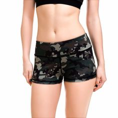 These sweat-wicking shorts are perfect for yoga, working out, relaxing, going to the beach, or walking the dog. The high-stretch fabric delivers a compressive, yet incredibly comfortable, feel. These are so comfortable that they will quickly become your favourite shorts.