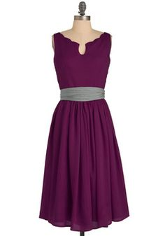 Wedding Date Dress /Effortless Allure Dress in Fuchsia, #ModCloth
