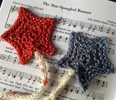 Ravelry: Star Spangled Bookmark pattern by Faith Schmidt