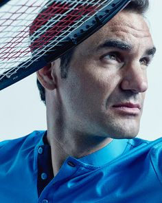 Roger Federer by Bill Gates for TIME, 2018.