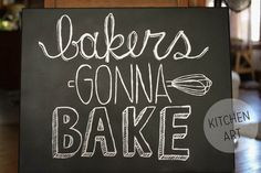 @Emily Kastner of Tartryin' fame does it again! I love this DIY sign for your kitchen
