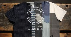 BACKYARD RECOMMENDS - MEN'S TEES