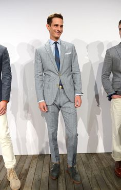 J Crew coleccion primavera verano 2014 New York Fashion Week J Crew, Gq, Men's Style, Mens Fashion, Formal, New York City, Spring Summer, Male Style, Moda Masculina