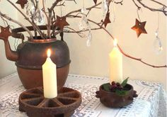 rust ideas from Marie Niemann Flea Market Gardening