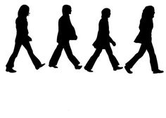 Abbey Road Reusable Stencil 4 Wall Art Home Decor Wood Signs Crafts 10 X 6