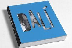 Salvador Dali, a Catalan attacking the capital diecut cover Graphic Design Books, Book Design Layout, Book Cover Design, Best Design Books, Book Cover Page, Design Layouts, Salvador Dali, Buch Design, Design Art