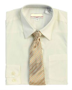 bcd521016d78 Boys Dress Shirts, Toddler and Boy Sizes, with Tie, Dressed Up Kids