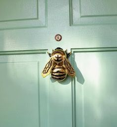 Honeybee Door Knocker I love this my name means Honeybee
