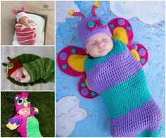 Crochet Baby Cocoons The Cutest Collection