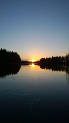 Sunset in Sävast - Boden - Norrbotten - Sweden