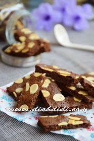Diah Didi's Kitchen: Brownies Cookies Praktis Brownie Cookies, Cake Cookies, Cokies Recipes, Finger Cookies, Almond Butter Cookies, Diy Food, Brownies, Food Photography, Food And Drink