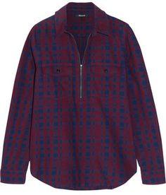 Madewell Mckinney Plaid Cotton-Flannel Shirt#ad