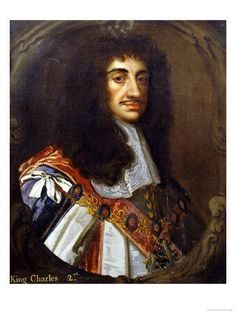 CHARLES  STUART (1630-1685)  CHARLES II  KING OF SCOTLAND, IRELAND & ENGLAND  Charles II was born in St James's Palace, London. He accepted the Scottish Covenanters' offer to make him King, and landed in Scotland in 1650,  he was crowned at Scone on 1 January 1651. He was crowned King of England at Westminster Abbey on 23 April 1661.