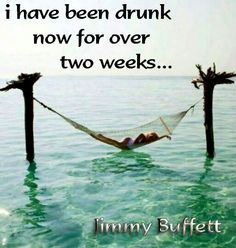 Jimmy Buffett....not sure if this should be on Fruitcakes or Randomly Me...
