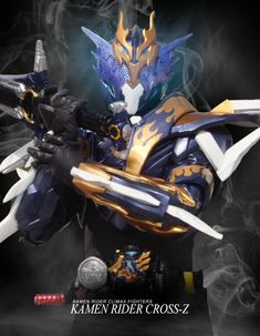 A mock-up promo image of Cross-Z for Climax Fighters. Climax Fighters: Kamen Rider Cross-Z Kamen Rider Ooo, Kamen Rider Decade, Kamen Rider Series, Jin Kazama, Team Rwby, Power Rangers, Marvel Entertainment, Knight, Character Design