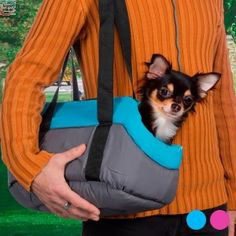 If you like your pet to accompany you wherever you go, you need the fabric pet carrier. It's ideal for puppies and kittens or small dogs and cats and you'll enjoy their company at home as well as out and about. This fabric trav Kittens And Puppies, Cats And Kittens, Designer Dog Carriers, Pet Carriers, Dog Design, Small Dogs, Your Pet, Pet Supplies, Dog Cat