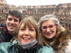 What a sweet selfie! Although the winter months can bring the cold weather, the great thing is that our clients can visit the Colosseum without the busy crowds. Our amazing guide Daniella took this photo of our clients on December 27th during their day tour of Rome where they got to see both the Colosseum & The Vatican Museums, as well as many other highlights! For more information about our Rome in a day tours: www.livitaly.com/tour/rome-in-a-day-small-group-tour/?src=pinterest