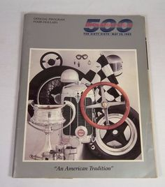 Indianapolis 500 Official Program / Yearbook - The Sixty-Sixth - May 30, 1982 #vintagephilly